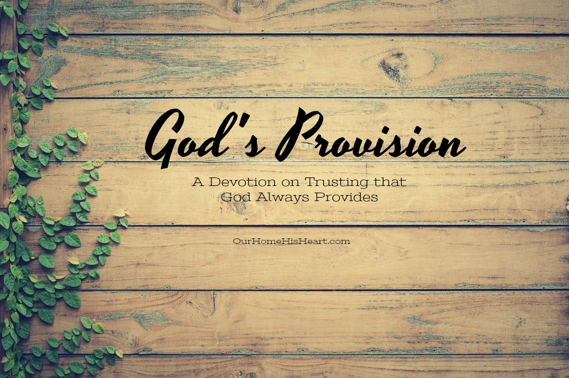 God's Provision Devotion