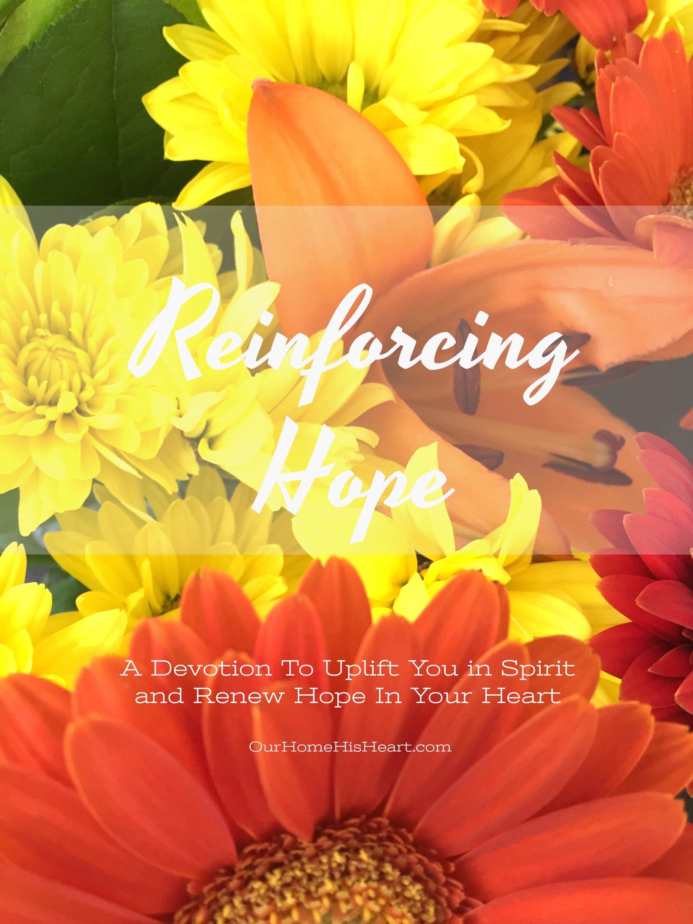 Reinforcing Hope Devotion