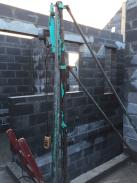 La cage d'escalier à l'étage