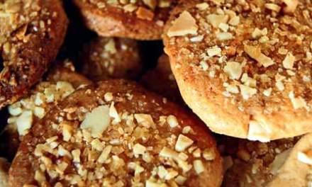 Caramel Pecan Cookies