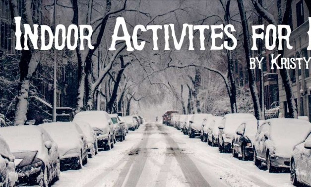 10+ Indoor Activities for Kids