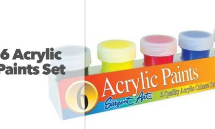 6 Acrylic Paints
