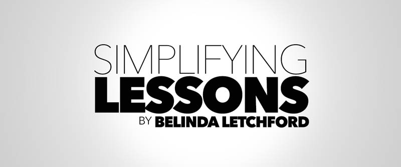 Simplifying Lessons