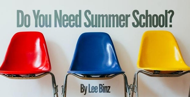 Do You Need Summer School?