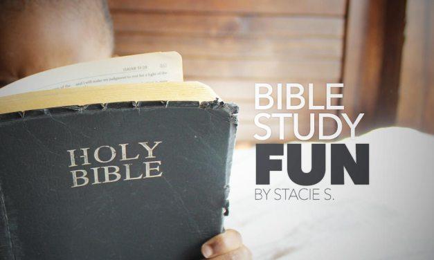Bible Study Fun
