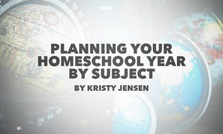Planning Your Homeschool Year By Subject