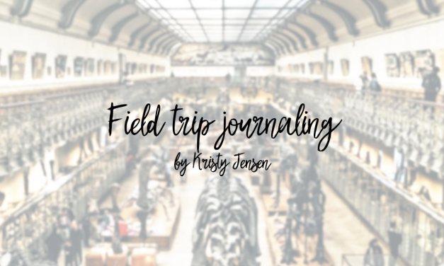 Field trip journaling