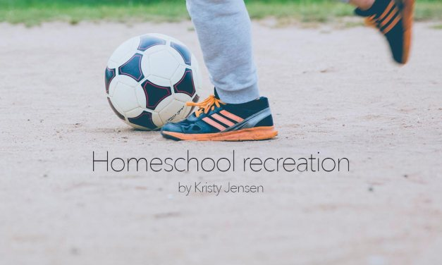Homeschool recreation
