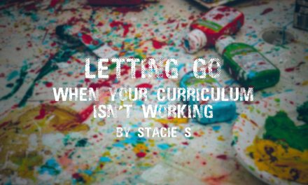 Letting Go: When Your Curriculum Isn't Working