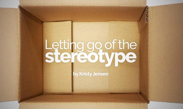 Letting go of the stereotype