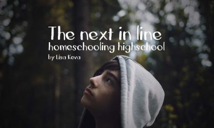 Homeschooling highschool:  the next in line