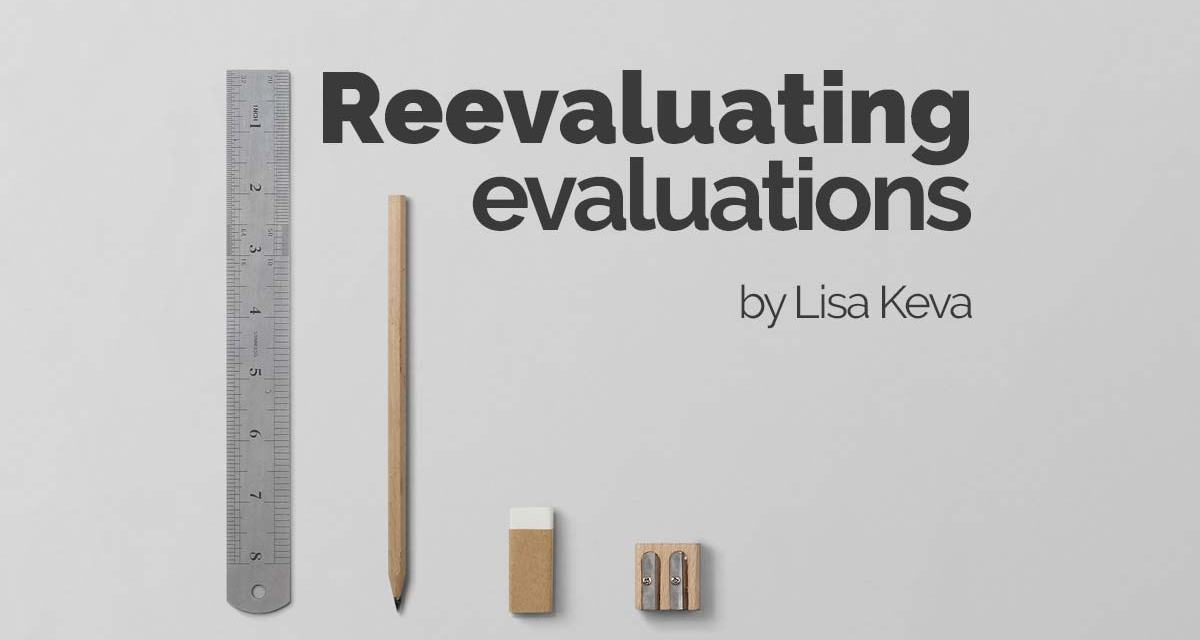 Reevaluating your evaluations