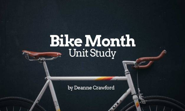 Bike Month Unit Study