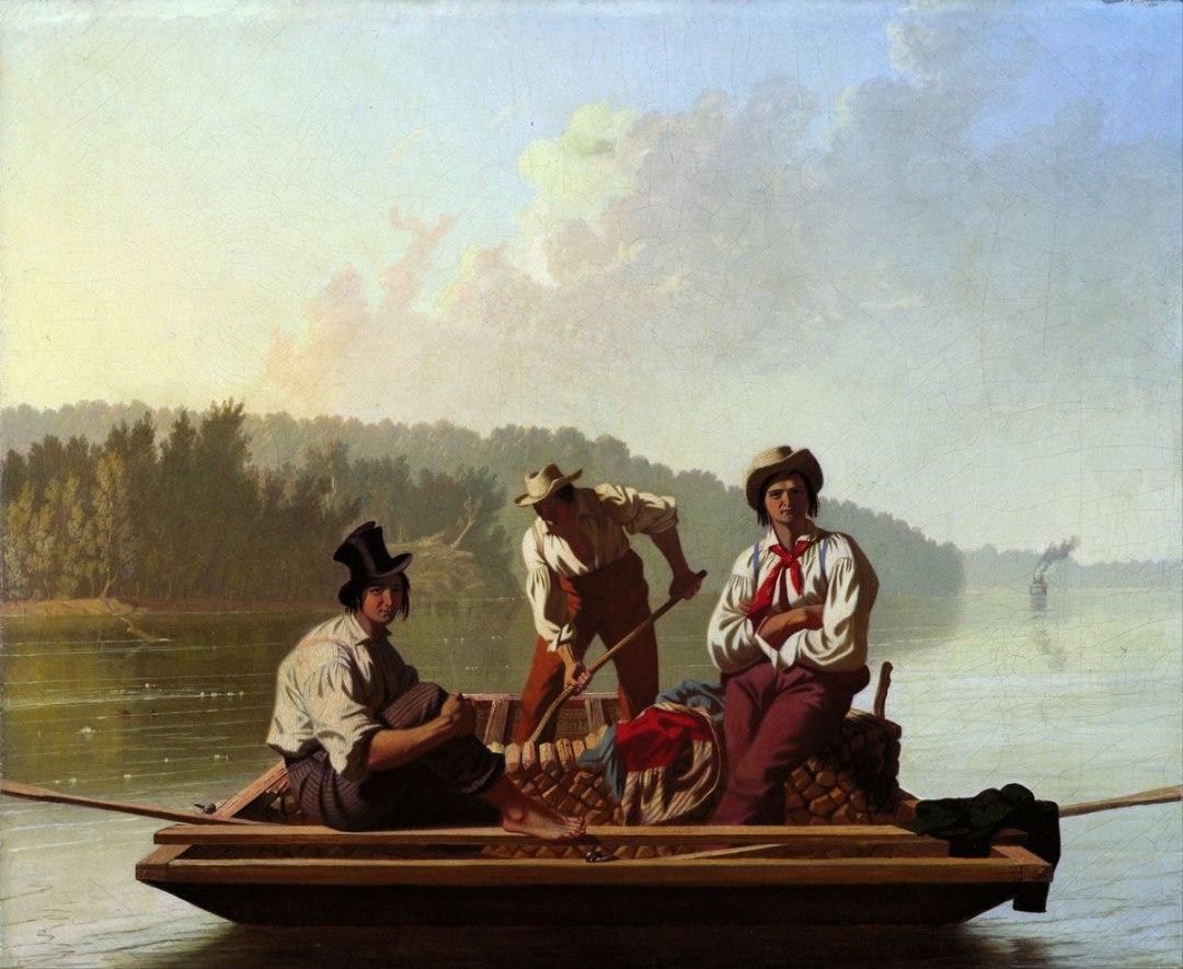 Bingham - Boatmen on the Mississippi
