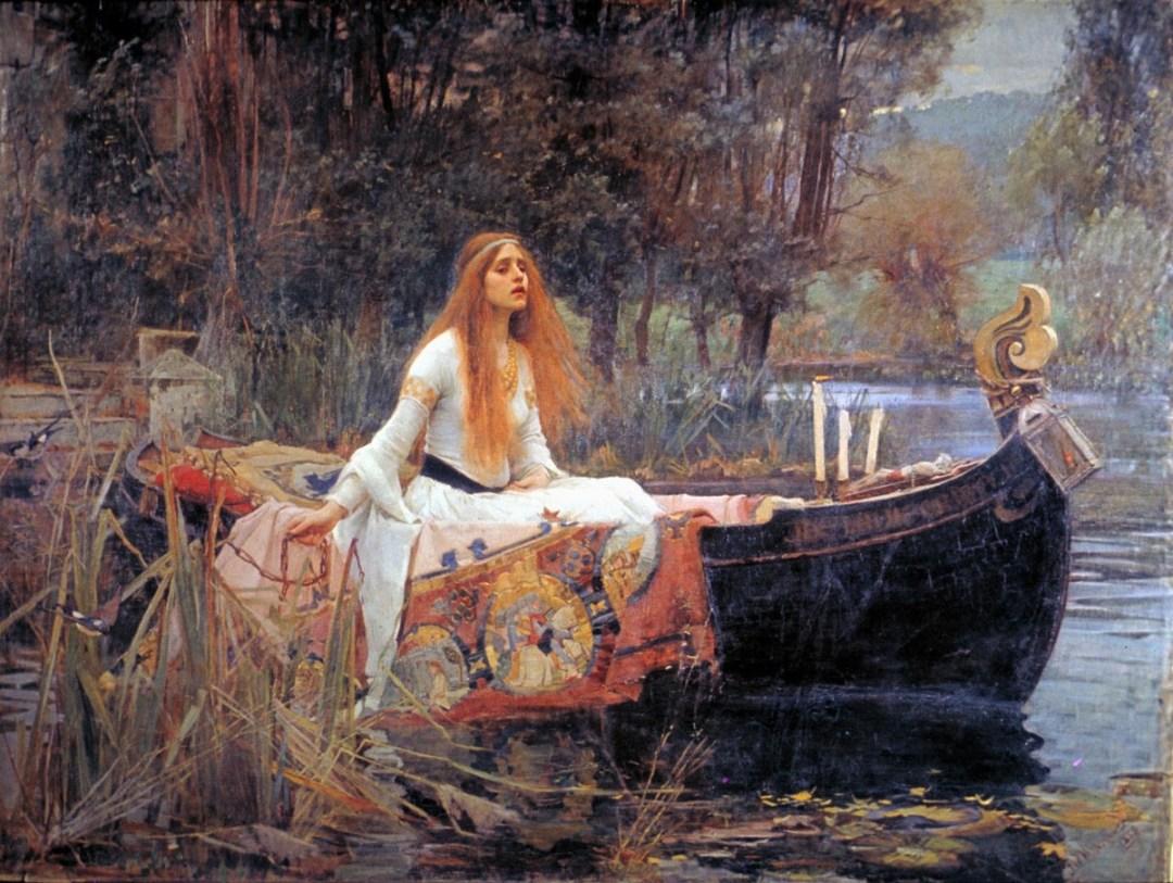Waterhouse - Lady of the Shalott