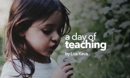 A day of teaching: preschool through highschool