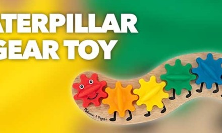 Caterpillar Gear Toy