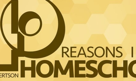 40 Reasons I Homeschool
