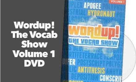 Wordup! The Vocab Show Volume 1 DVD