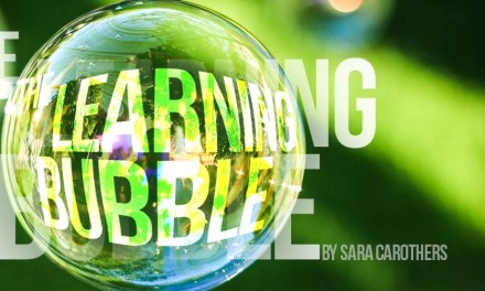 The Learning Bubble