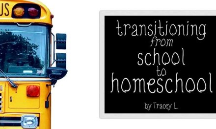 Transitioning from School to Homeschool