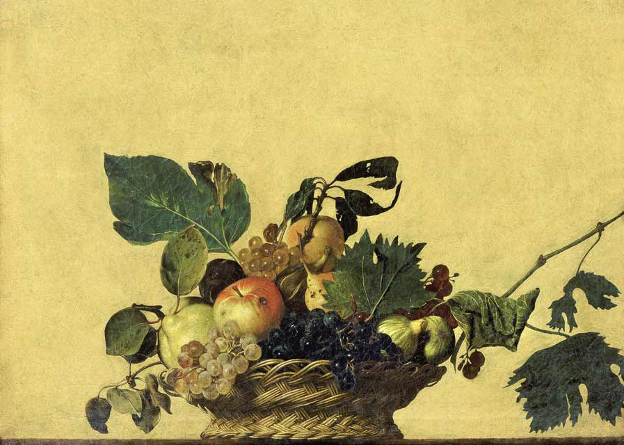 Caravaggio's Still Life Basket of Fruit