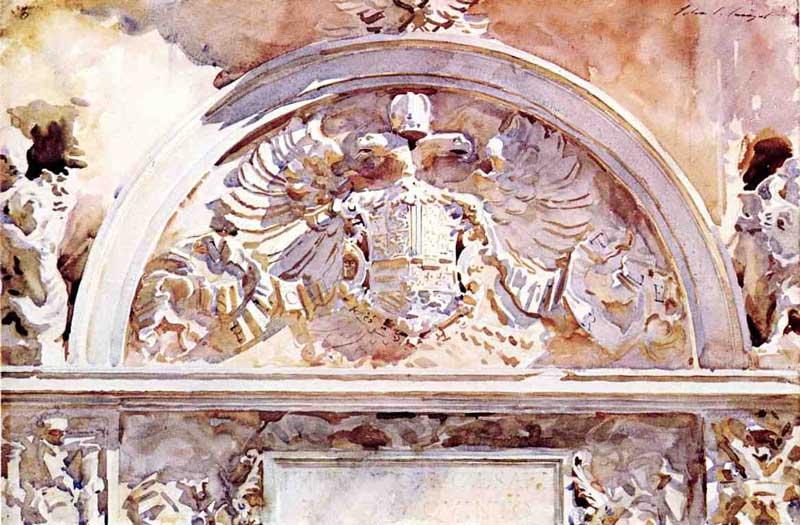 John Singer Sargent - Escutcheon of Charles V