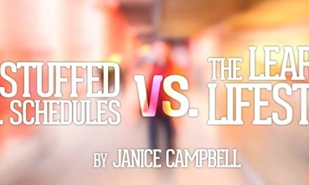 Overstuffed School Schedules vs. The Learning Lifestyle