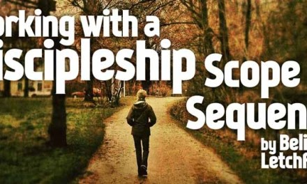 Working with a Discipleship Scope and Sequence