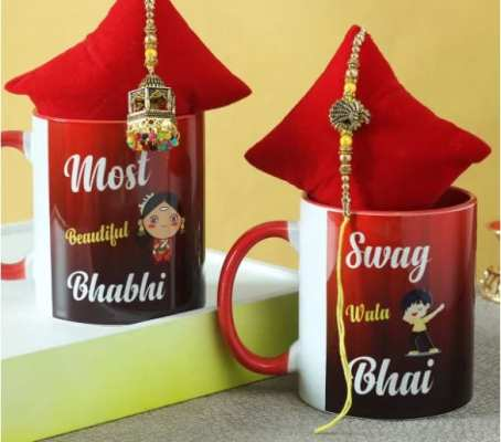 personalised rakhi gift for brother