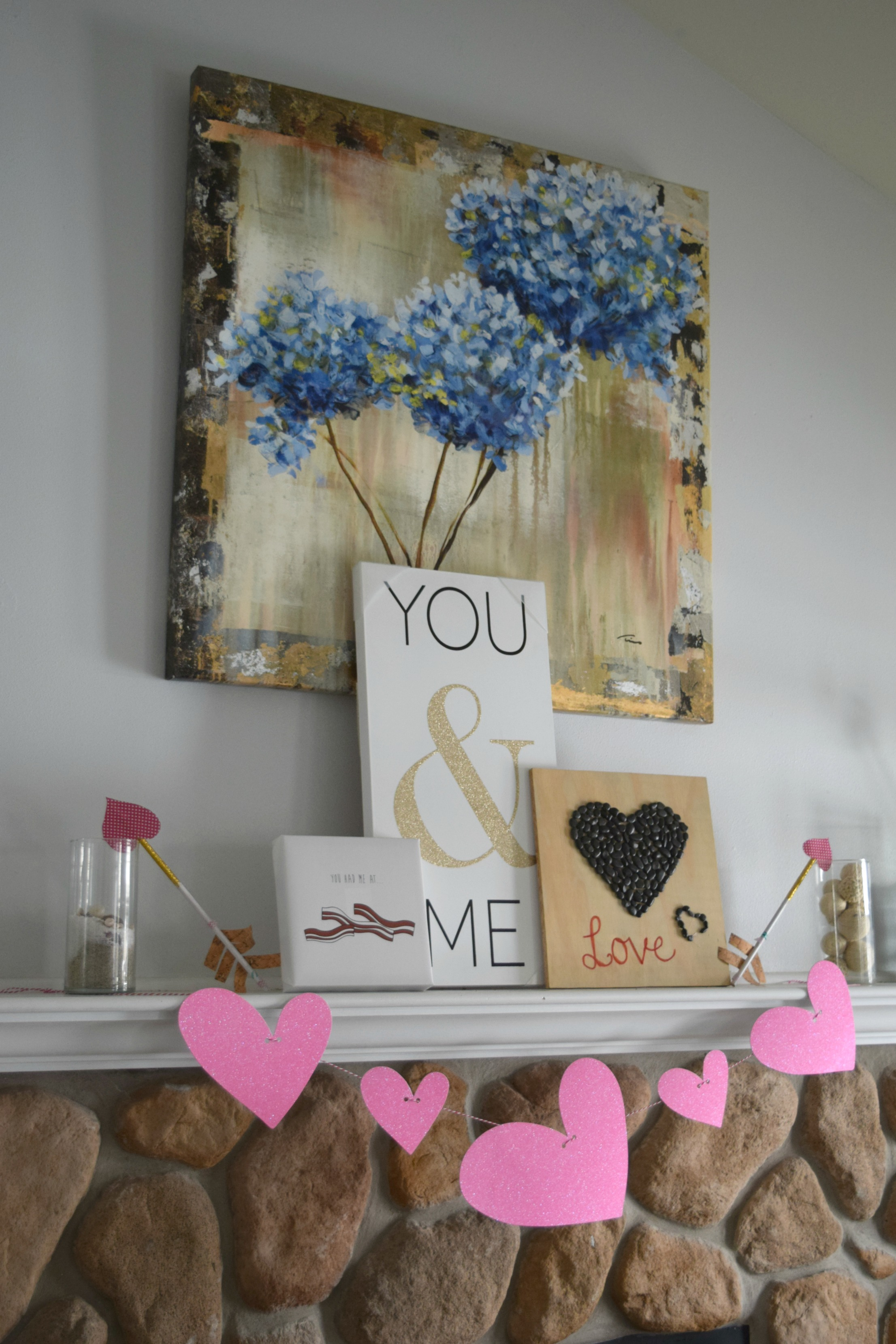 Valentines Day Decorations Amp Free Valentines Printables Our House Now A Home
