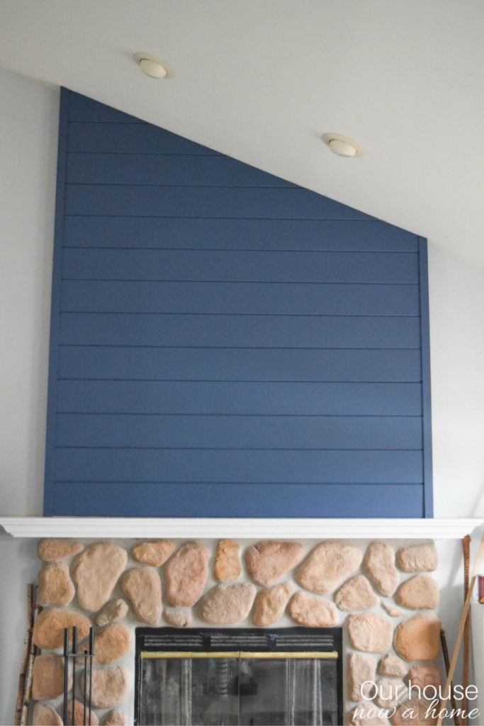 How To Create A Fireplace Wood Feature Wall A Modern