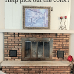 Fireplace Redo What Color Is Best Our House Now A Home