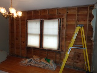 French door wall after 12/5/15 weekend