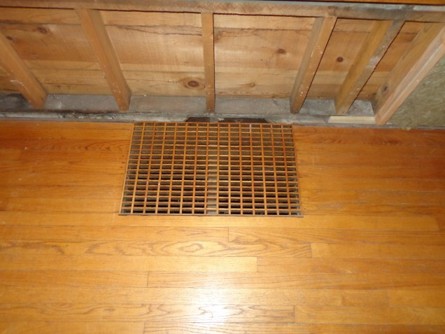 Floor Cold Air Return Grate