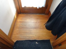 Entryway floor rough but reusable