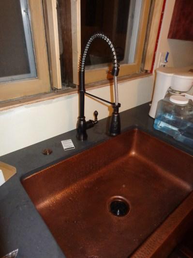 Faucet and disposal set