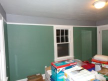 Upper wall color done