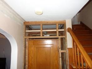 Powder room framing