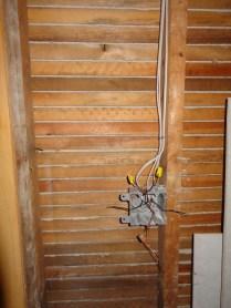 Powder room switch box