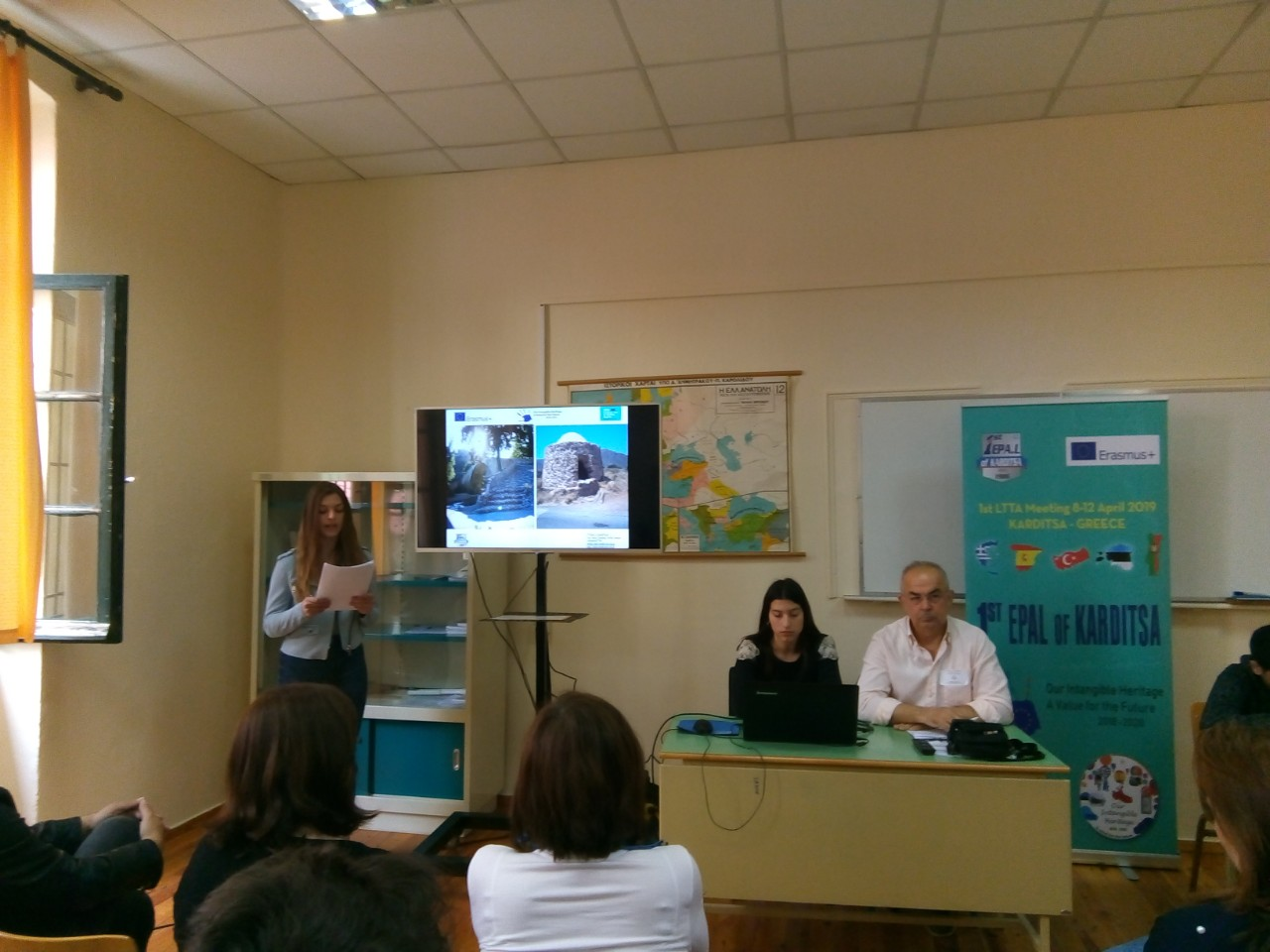 Dissemination of the Project at the 2nd Panhellenic Student Conference