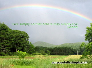 Why Live Simply?