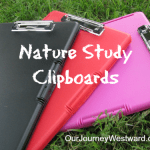 Nature Study Clipboards