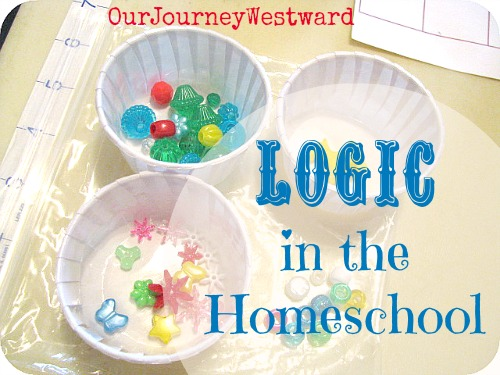 Logic is an important K-12 homeschool subject. This post shares favorite logic resources for all grade levels. It's EASY to add logic to your schedule!