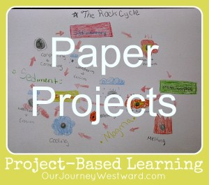 Project-Based Learning: Paper Projects