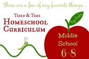 These are wonderful materials for homeschooling middle school students!