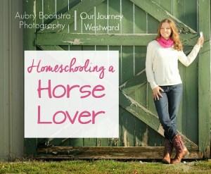 Homeschooling a Horse Lover