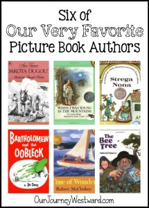 Our favorite picture book authors have earned many honored spaces on our bookshelves of living literature. Your elementary students will love these authors and their many books!