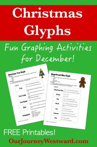 Christmas Glyphs: Fun Graphing for December