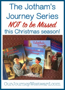 Why the Jotham's Journey Series is NOT to be Missed